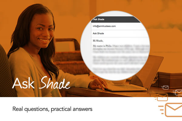 ASK SHADE: Help! My husband buys assets in his name alone